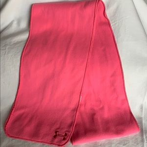 Under Armour Pink Fleece Scarf